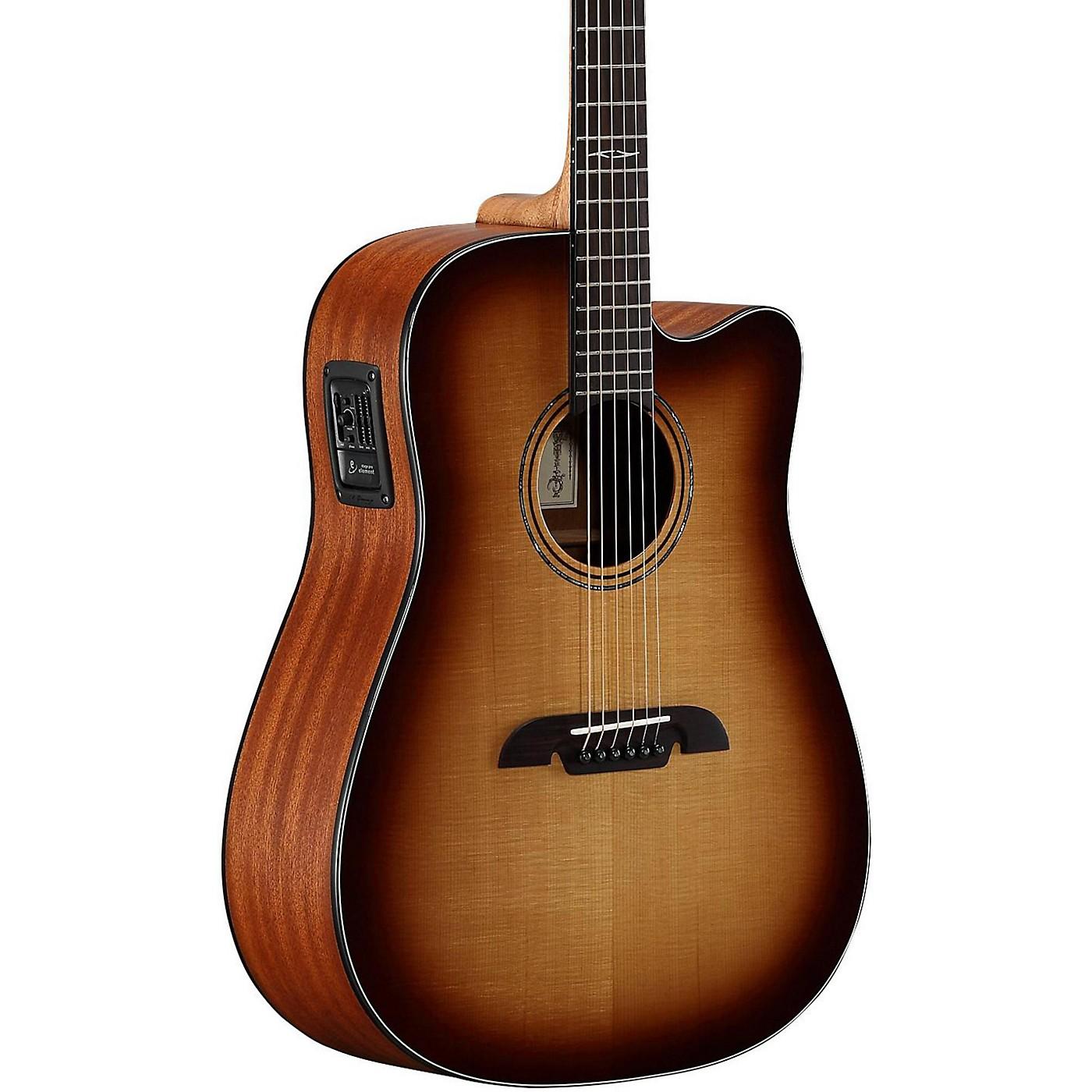 Alvarez AD60CESHB Dreadnought Acoustic-Electric Guitar thumbnail