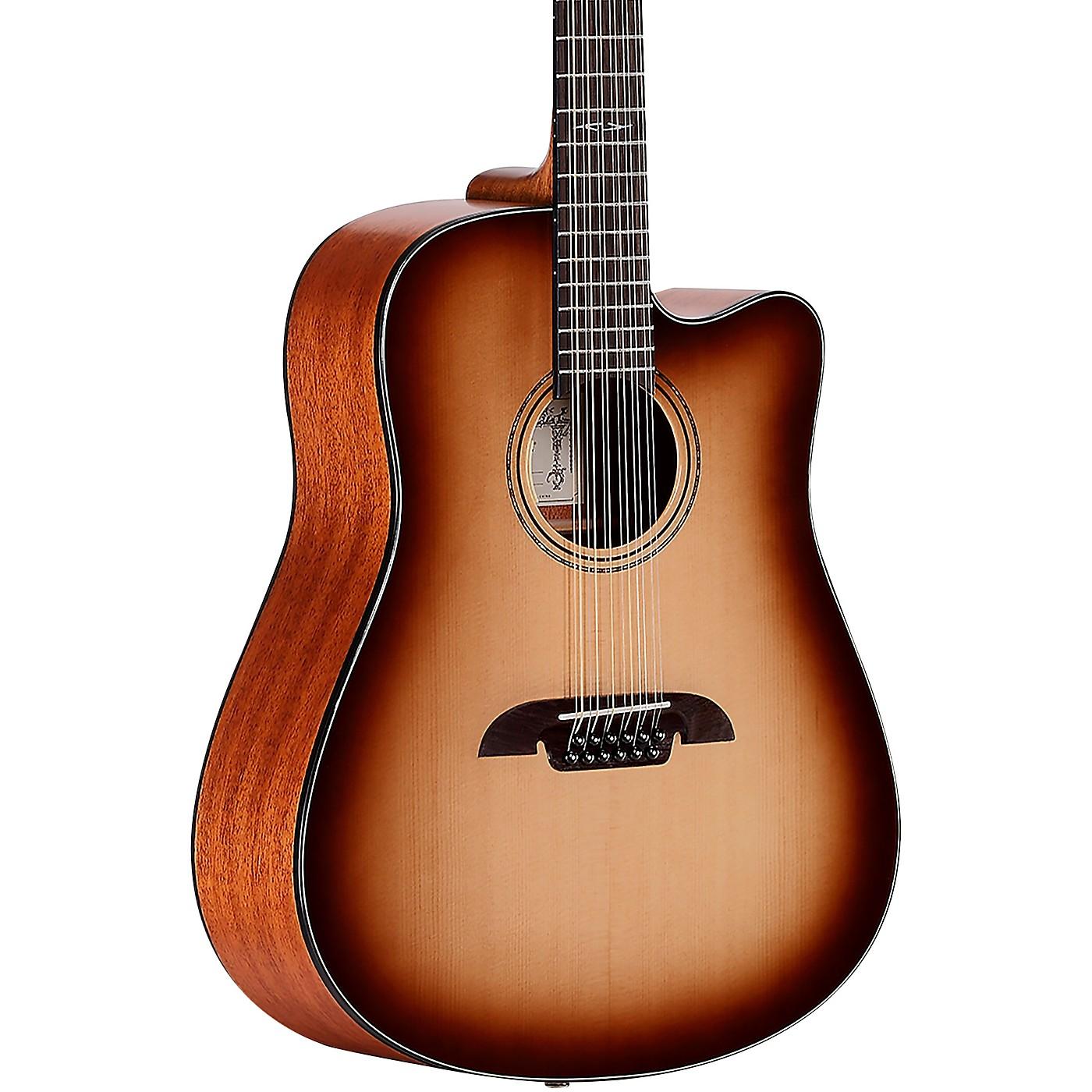 Alvarez AD610CE-12SHB Artist Dreadnought 12-String  Acoustic-Electric Guitar thumbnail