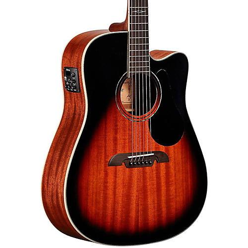 Alvarez AD66CE Dreadnought Acoustic-Electric Guitar thumbnail