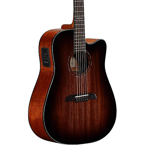 Alvarez AD66CESHB Dreadnought Acoustic-Electric Guitar thumbnail