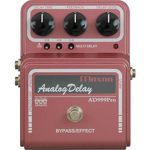 Maxon AD999 Pro Analog Delay Guitar Effects Pedal thumbnail
