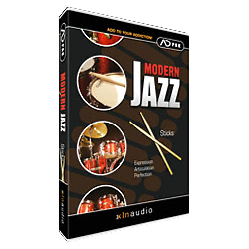 XLN Audio ADpak Modern Jazz - Sticks thumbnail