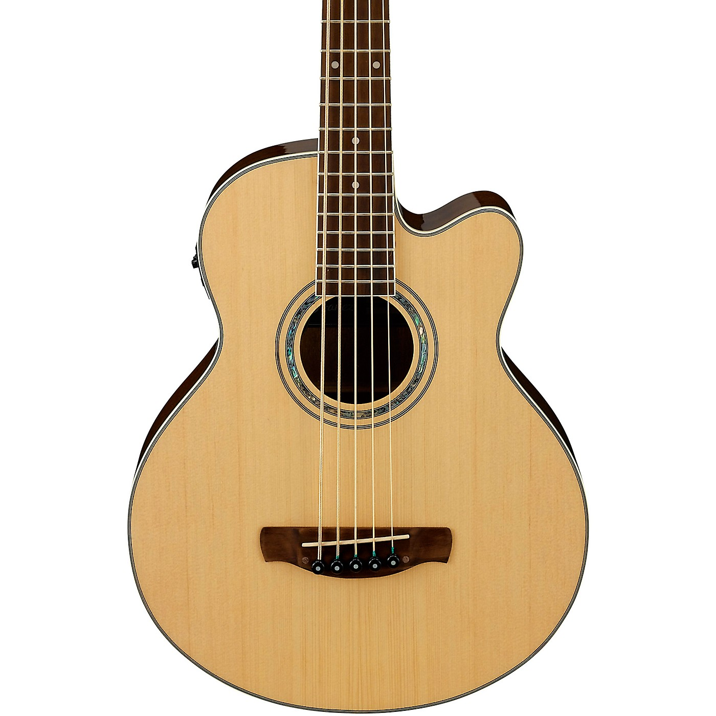 Ibanez AEB105E Acoustic-Electric 5-String Bass thumbnail