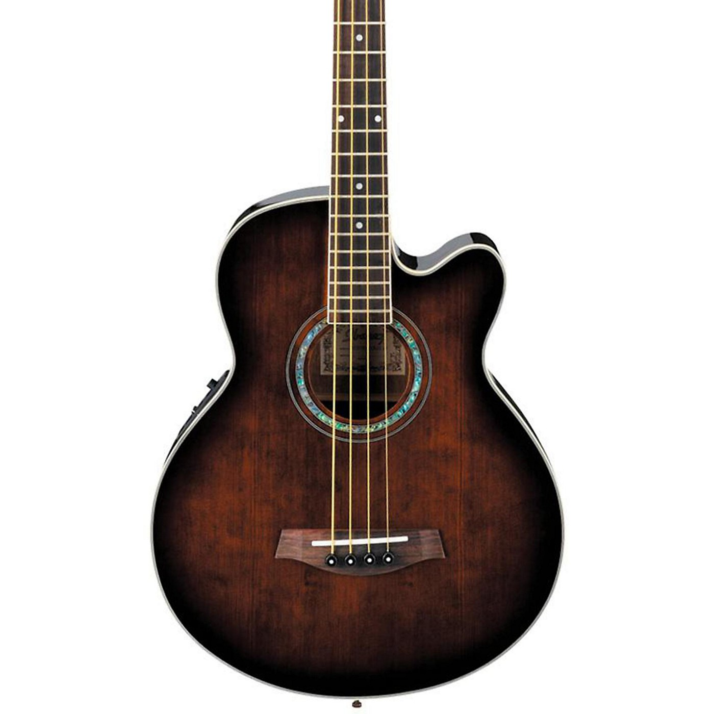 Ibanez AEB10E Acoustic-Electric Bass Guitar with Onboard Tuner thumbnail