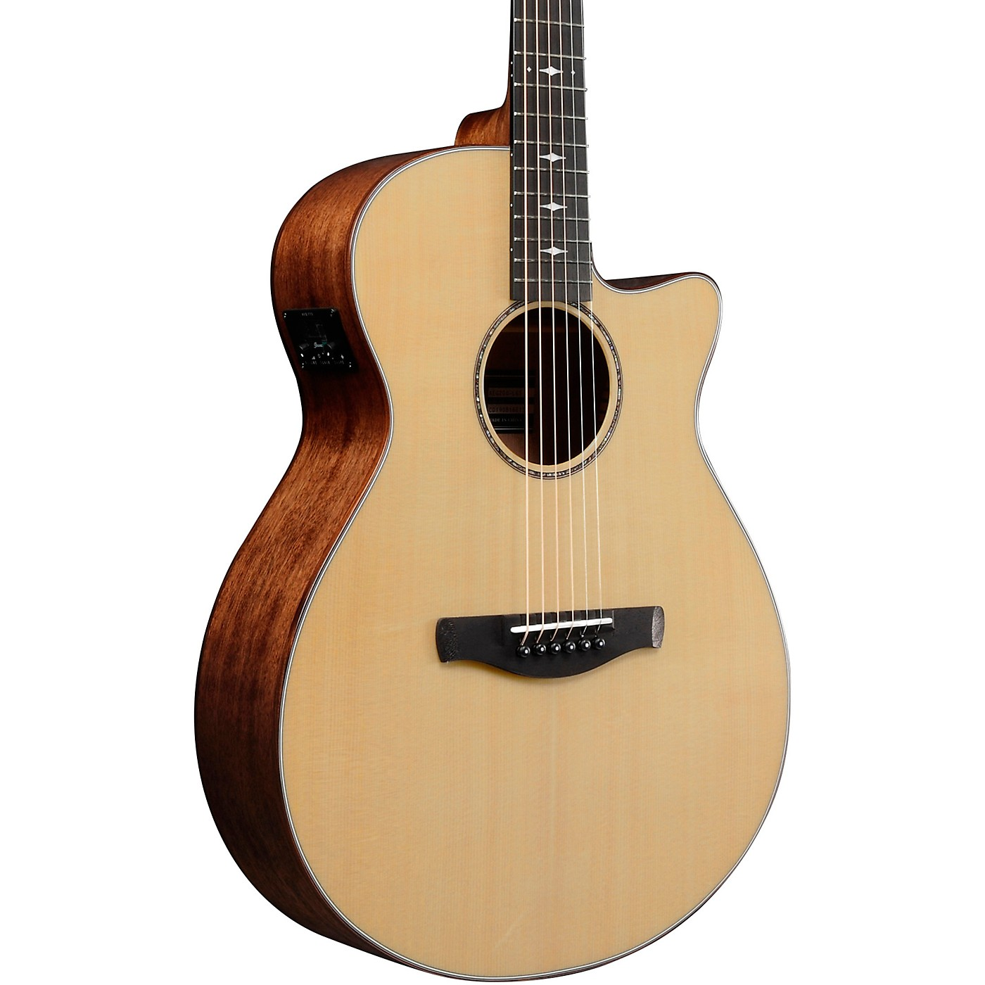 Ibanez AEG200 Solid Top Grand Concert Acoustic-Electric Guitar thumbnail