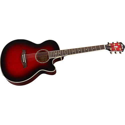 Ibanez AEG20E Flamed Sycamore Top Acoustic-Electric Guitar thumbnail