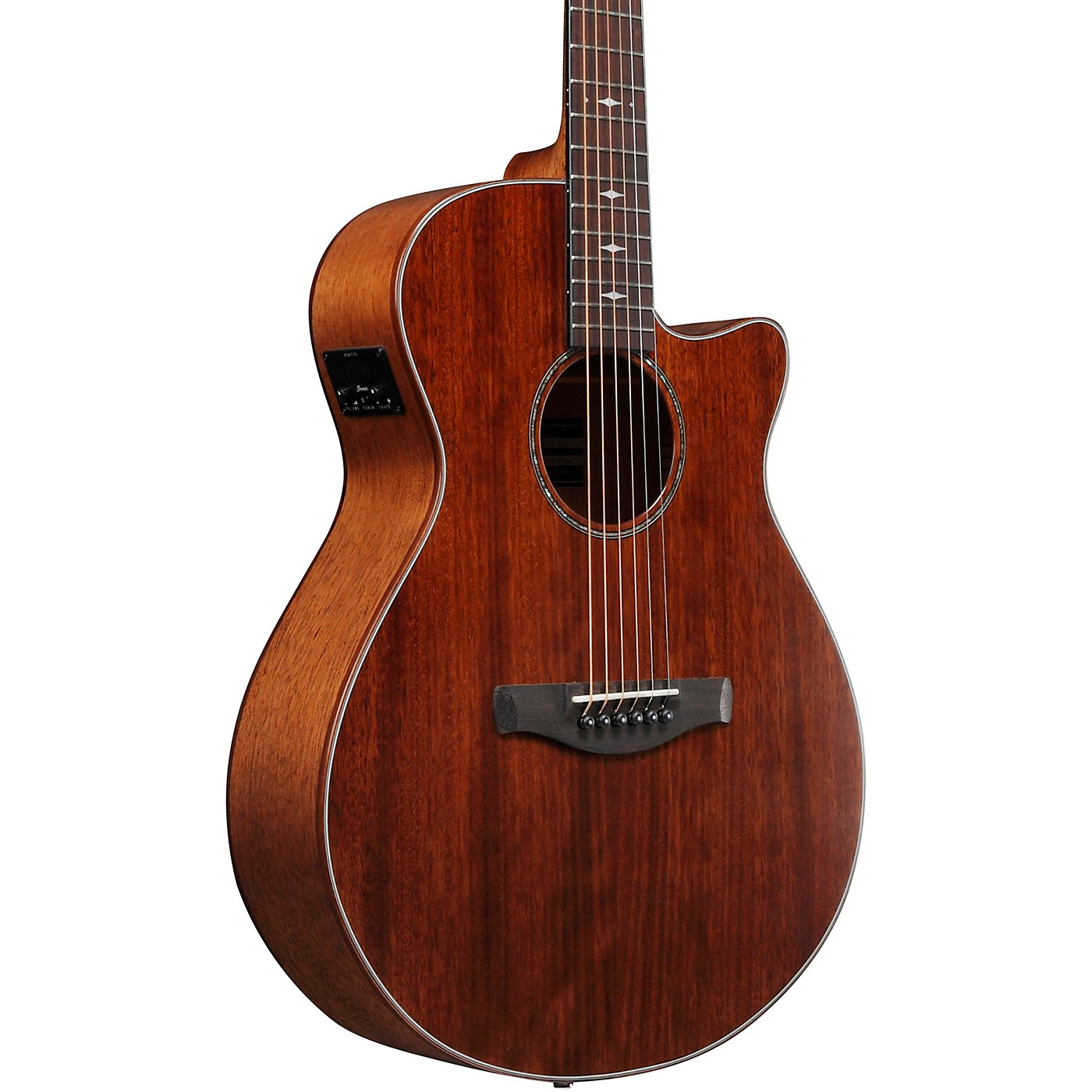 Ibanez AEG220 Solid Top Grand Concert Acoustic-Electric Guitar thumbnail