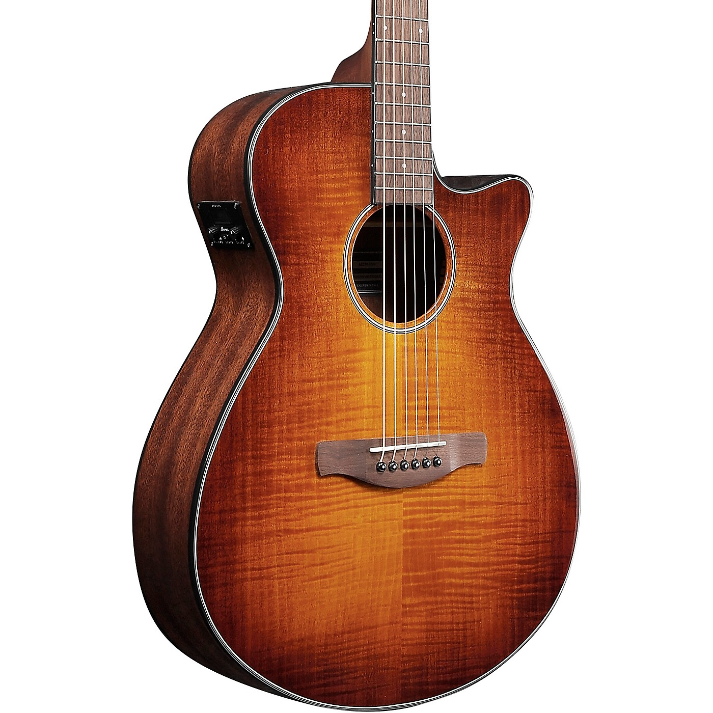 Ibanez AEG70 Flamed Maple Top Grand Concert Acoustic-Electric Guitar thumbnail