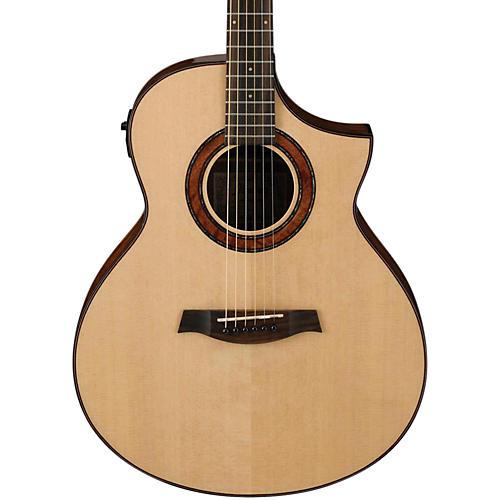 Ibanez AEW23MVNT Movingui Exotic Wood Acoustic-Electric Guitar thumbnail
