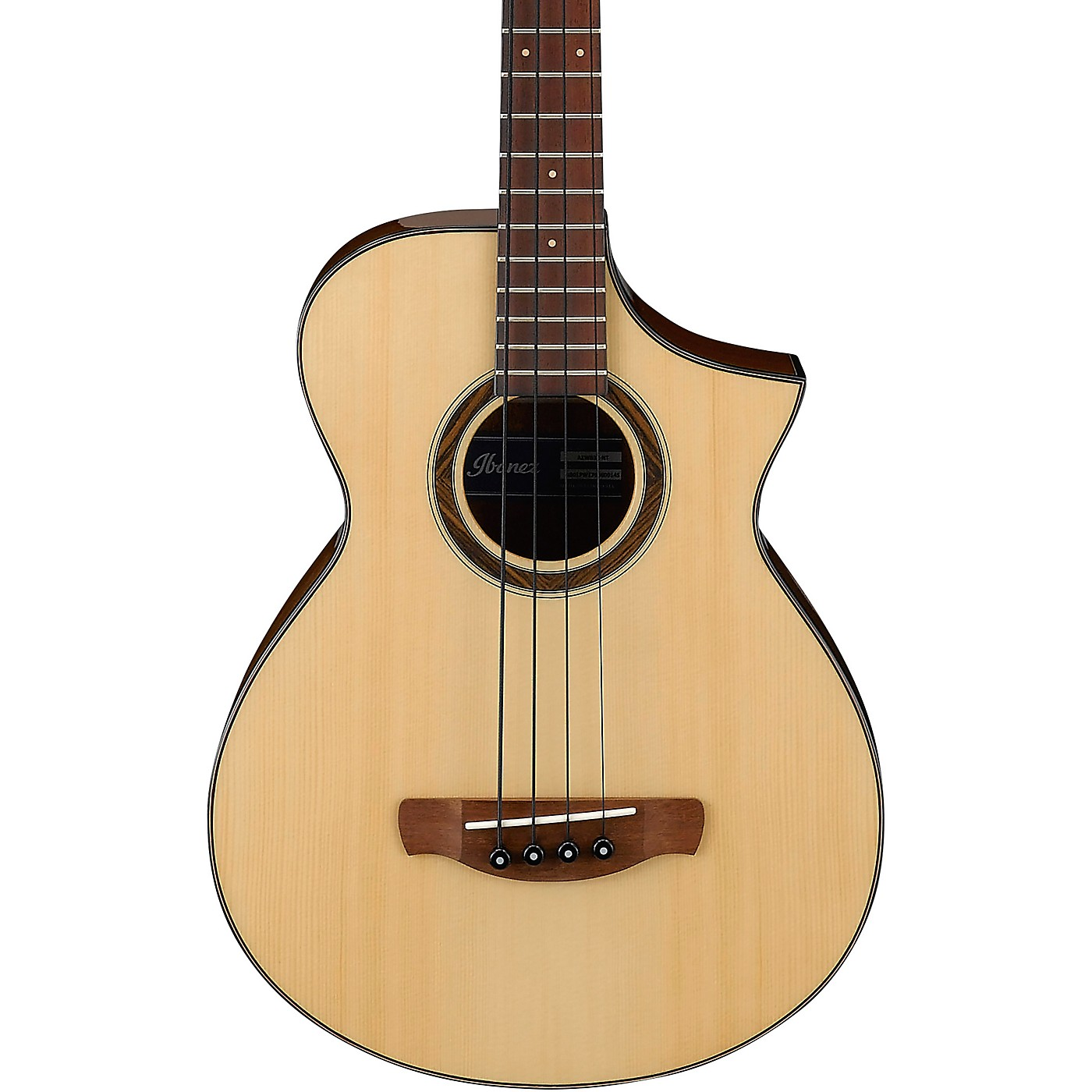 Ibanez AEWB32 Short-Scale Acoustic-Electric Bass thumbnail