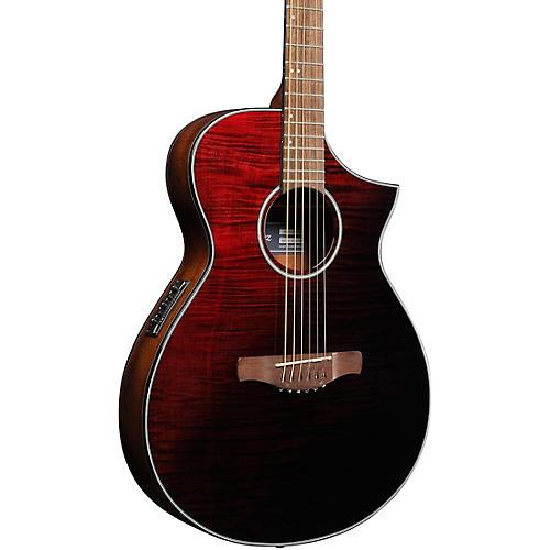 Ibanez AEWC32FM Thinline Acoustic-Electric Guitar thumbnail