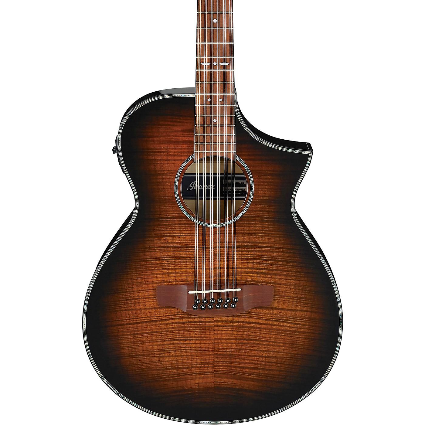 Ibanez AEWC4012FM 12-String Acoustic-Electric Guitar thumbnail