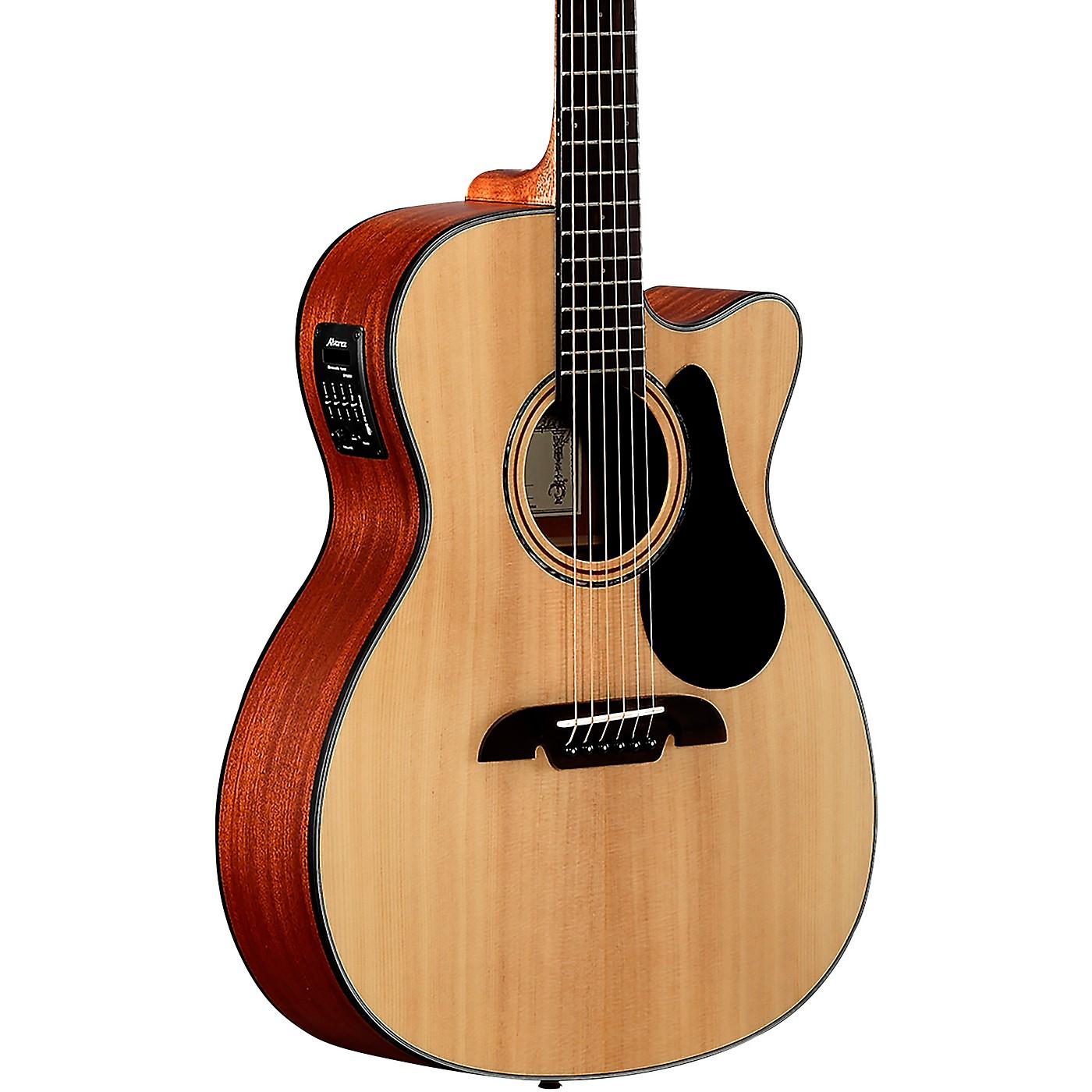 Alvarez AF30CE Artist Series OM/Folk Acoustic-Electric Guitar thumbnail