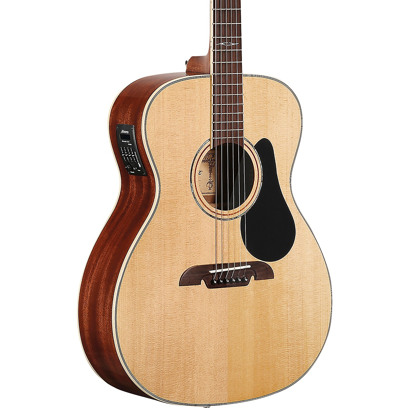 Alvarez AF60E Artist Folk Solid Top Acoustic-Electric Guitar thumbnail