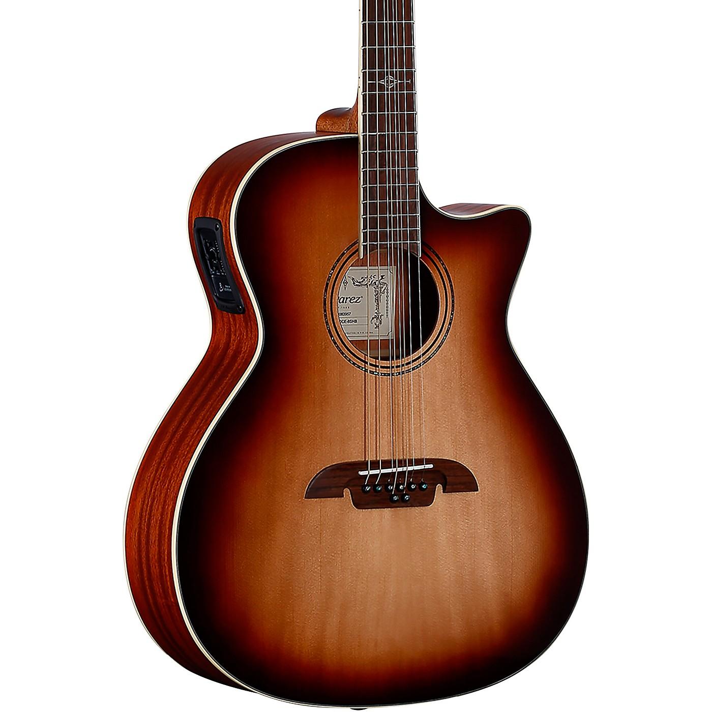 Alvarez AG60CE8 Artist Grand Auditorium 8 String Acoustic-Electric Guitar thumbnail