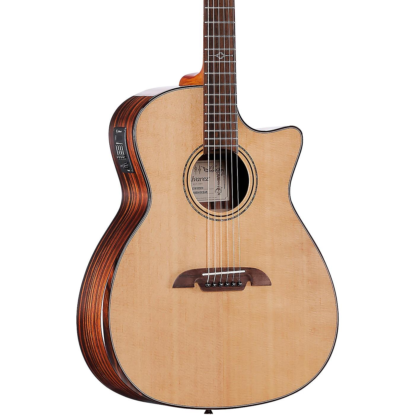 Alvarez AGE910CEAR Artist Elite Grand Auditorium Acoustic-Electric Guitar thumbnail