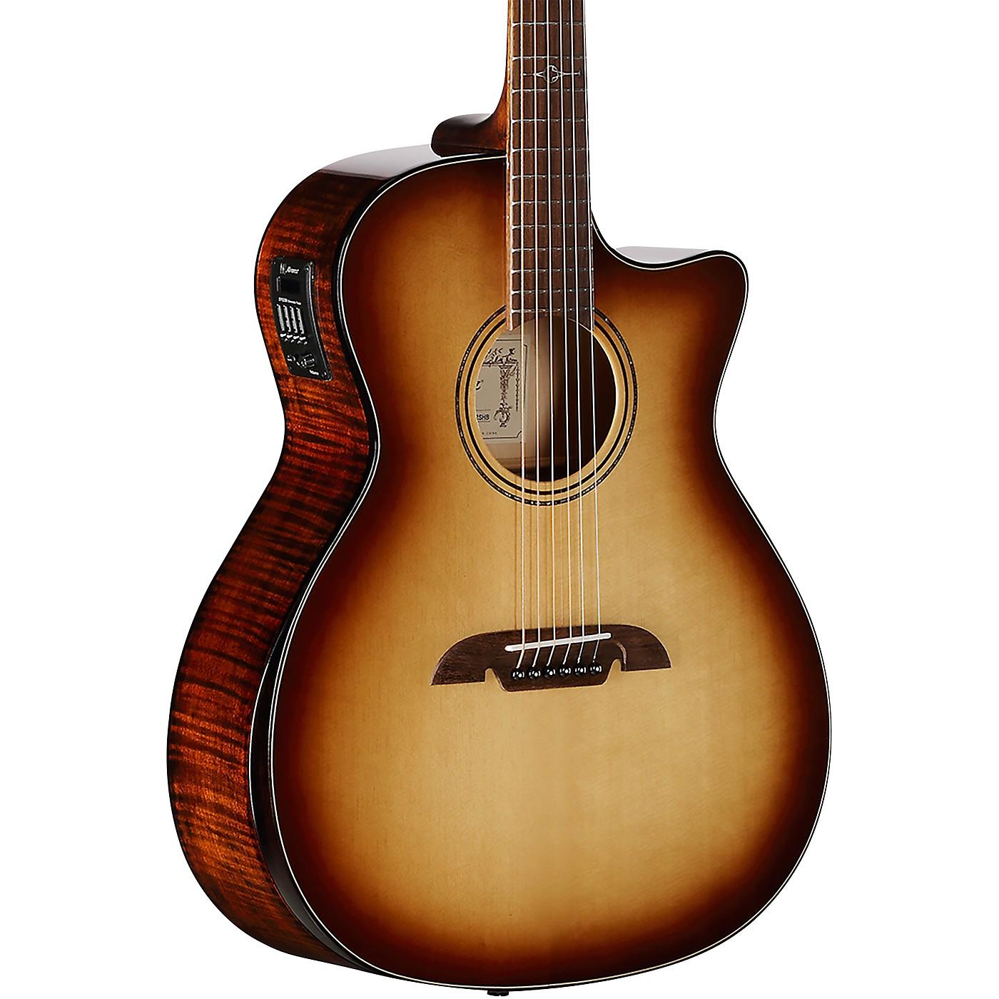 Alvarez AGFM810CEAR Artist Elite Shadowburst Grand Auditorium Acoustic-Electric Guitar thumbnail