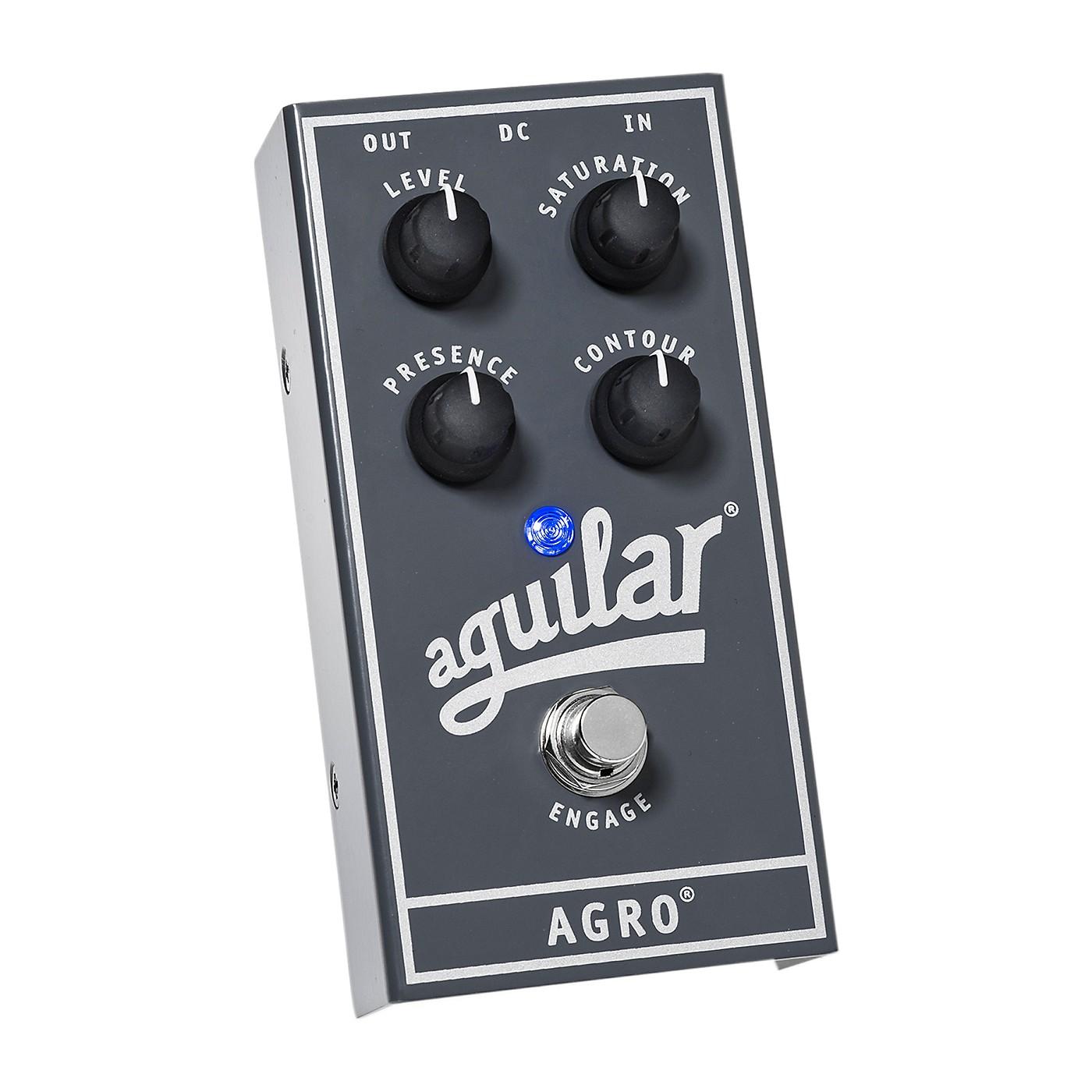 Aguilar AGRO Bass Overdrive Bass Effects Pedal thumbnail