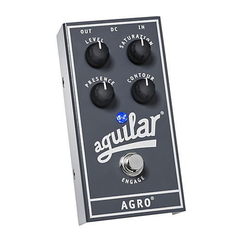 Aguilar AGRO Bass Overdrive Bass Effects Pedal thumbnail