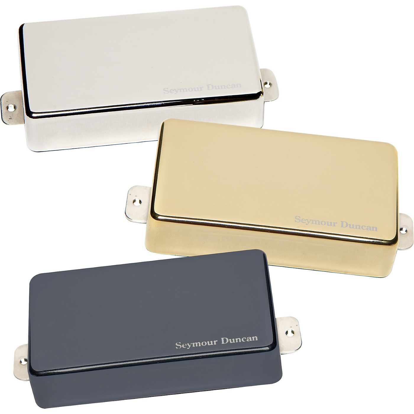 Seymour Duncan AHB-1 Blackouts Humbucker Set with Metal Covers thumbnail