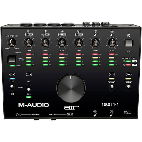M-Audio AIR 192 14 USB C Audio Interface thumbnail