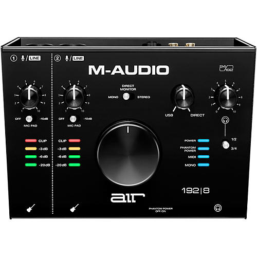 M-Audio AIR 192 8 USB C Audio Interface thumbnail