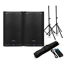"PreSonus AIR10 10"" Powered Speaker Pair with Stands and Power Strip"