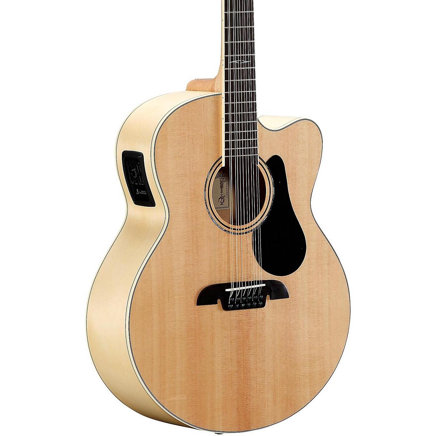 Alvarez AJ80CE-12 12-String Jumbo Acoustic-Electric Guitar thumbnail