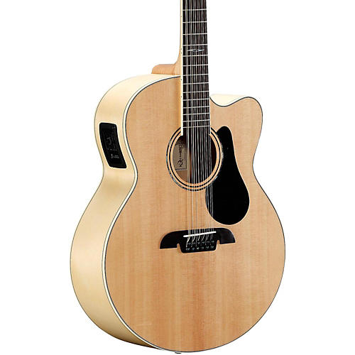 Alvarez AJ80CE-12 12-String Jumbo Acoustic-Electric Guitar thumbnail