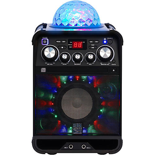 Altec Lansing ALP-K500 Party Star Karaoke System With Bluetooth and Effect Lights thumbnail