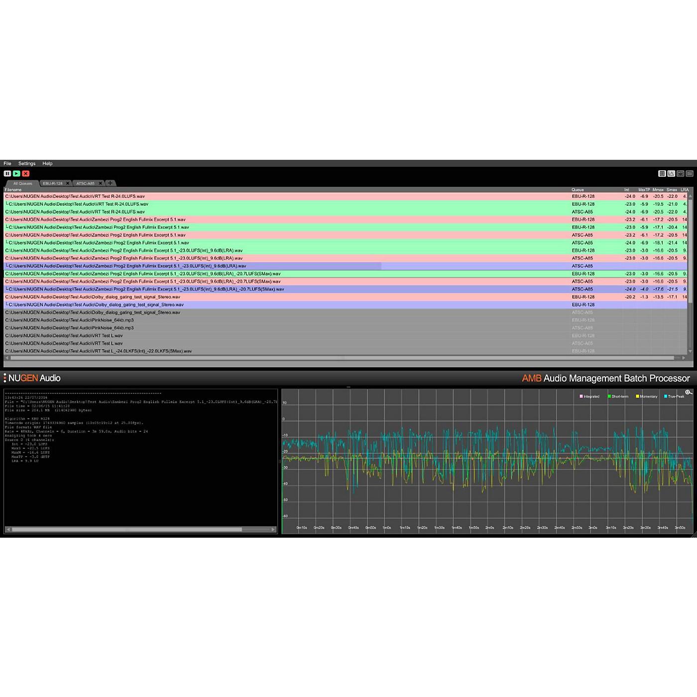 NuGen Audio AMB MXF Module thumbnail