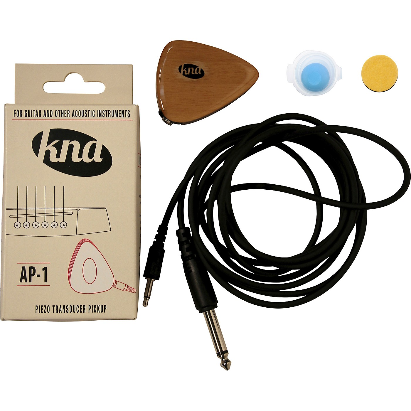 KNA AP-1 Portable Piezo for Guitar and Other Acoustic Instruments thumbnail