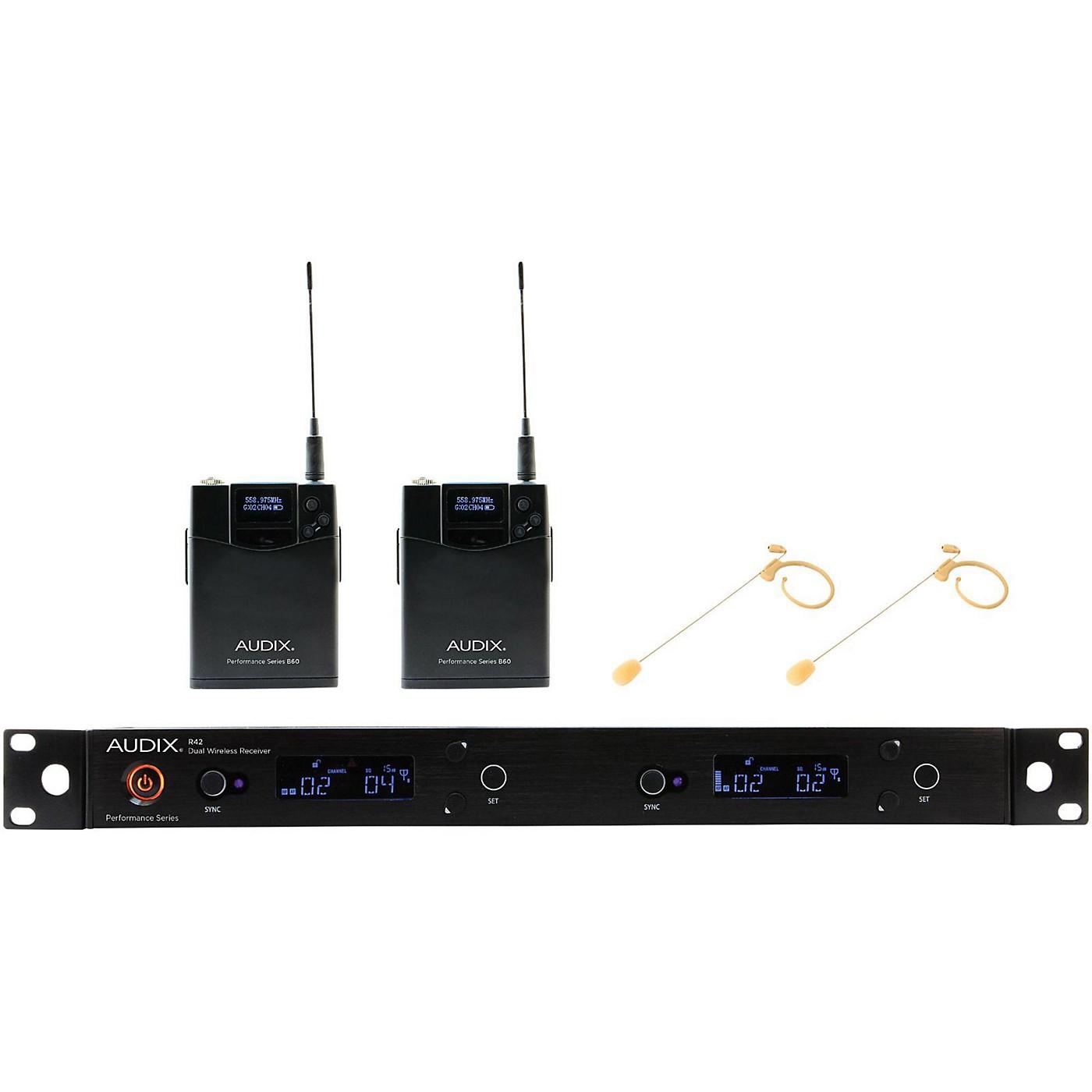Audix AP42 HT7BG Dual Headset Wireless System - Beige Restock thumbnail