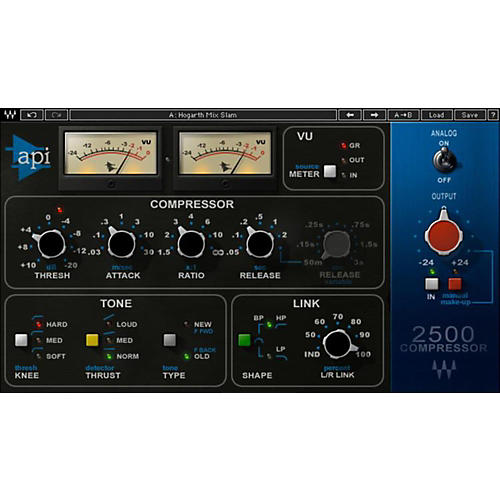 Waves API 2500 Native/TDM/SG Software Download thumbnail