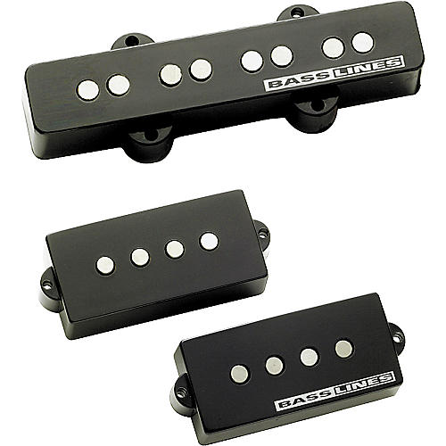 Basslines APJ-2 Lightnin' Rods Electric Bass Pickup Set thumbnail