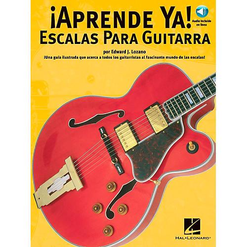 Music Sales APRENDE YA! - A TOCAR ESCALAS PARA GUITARRA BOOK/CD thumbnail