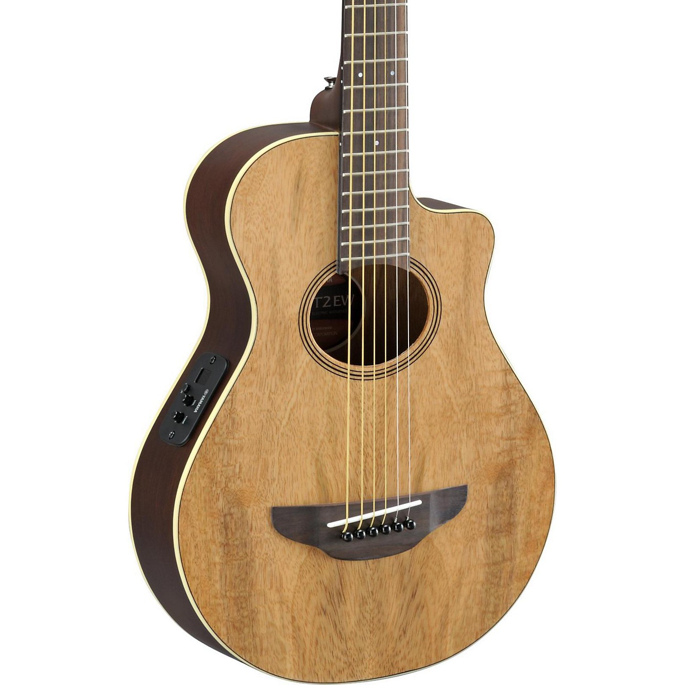 Yamaha APX Thinline 3/4 size Acoustic-Electic Guitar thumbnail