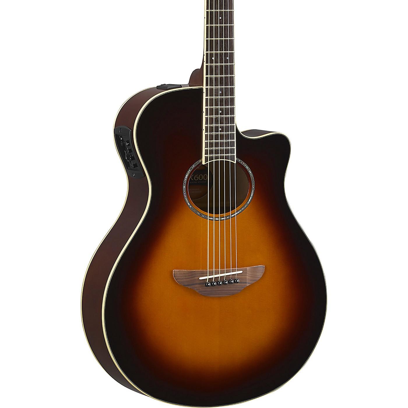 Yamaha APX600 Acoustic-Electric Guitar thumbnail