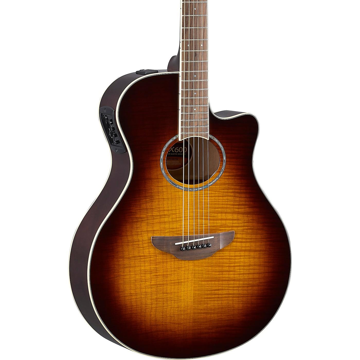 Yamaha APX600FM Acoustic/Electric Guitar thumbnail