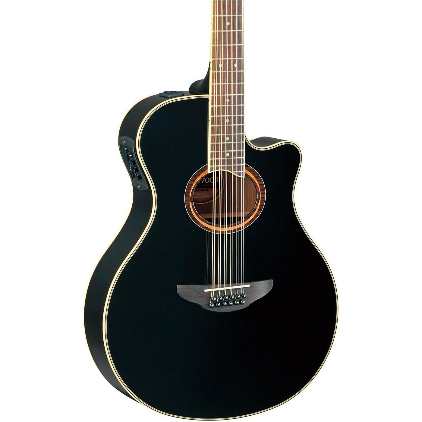 Yamaha APX700II-12 Thinline 12-String Cutaway Acoustic-Electric Guitar thumbnail