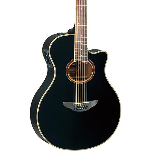 Yamaha APX700II-12 Thinline 12-String Cutaway Acoustic-Electric Guitar thumbnail