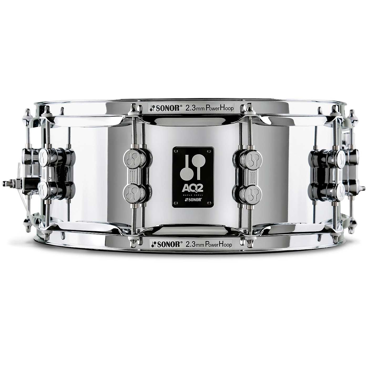 SONOR AQ2 Steel Snare Drum thumbnail