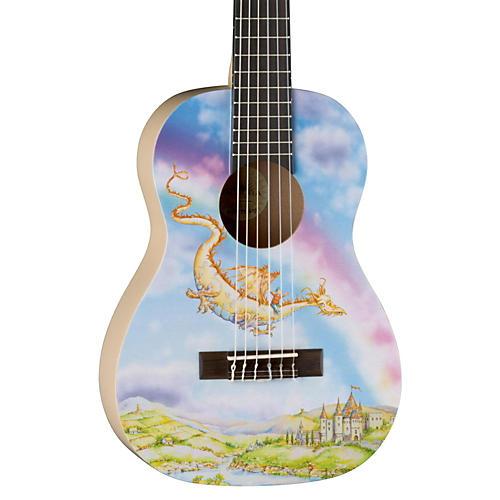 Luna Guitars AR2 NYL Auroura Dragon Guitar thumbnail