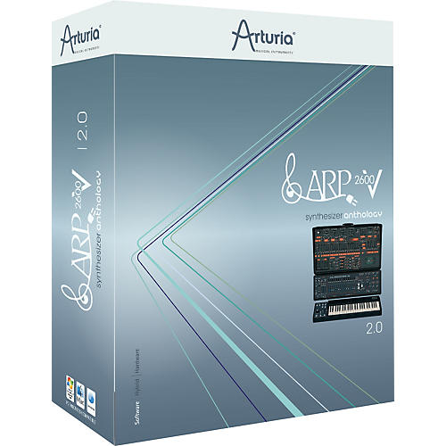 Arturia ARP 2600 V 2.0 Virtual Synth Software-thumbnail