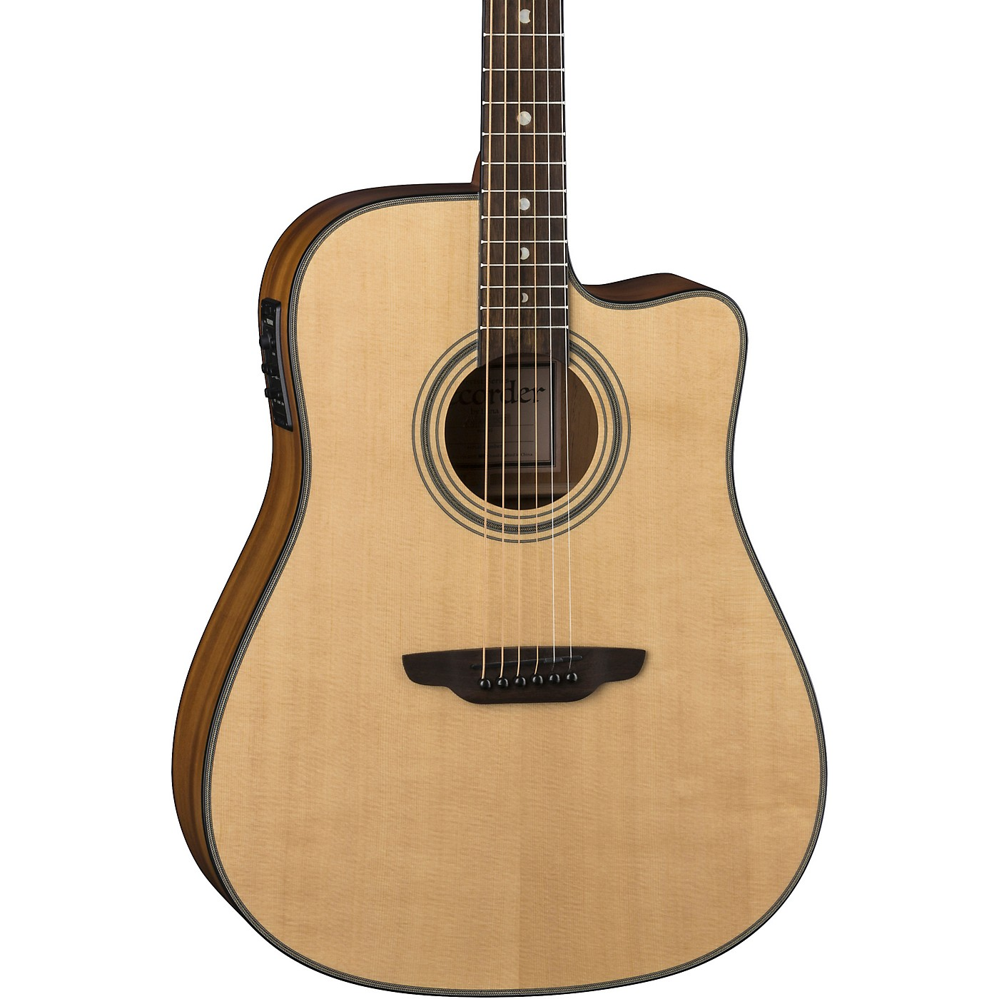 Luna Guitars ART Recorder Dreadnought Cutaway Acoustic-Electric Guitar thumbnail