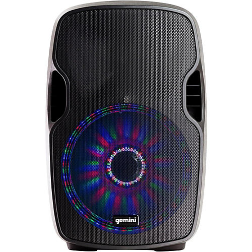 Gemini AS-10BLU-LT 10 in. Powered Bluetooth Speaker with LED Lights thumbnail