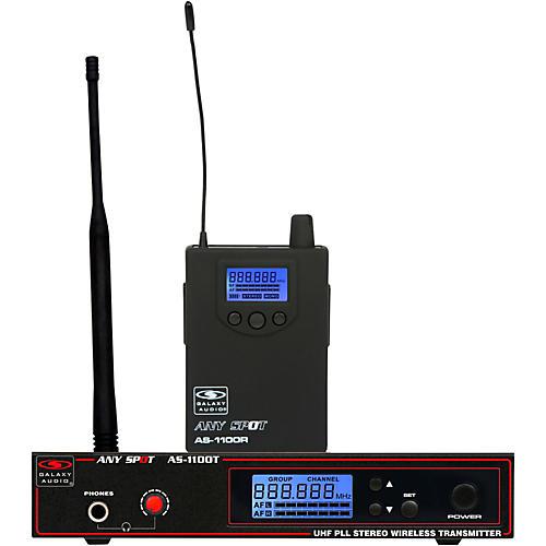 Galaxy Audio AS-1100 UHF Wireless Personal Monitor thumbnail