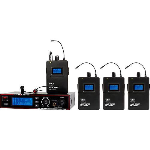 Galaxy Audio AS-1400 Band Pack Wireless Personal Monitors thumbnail