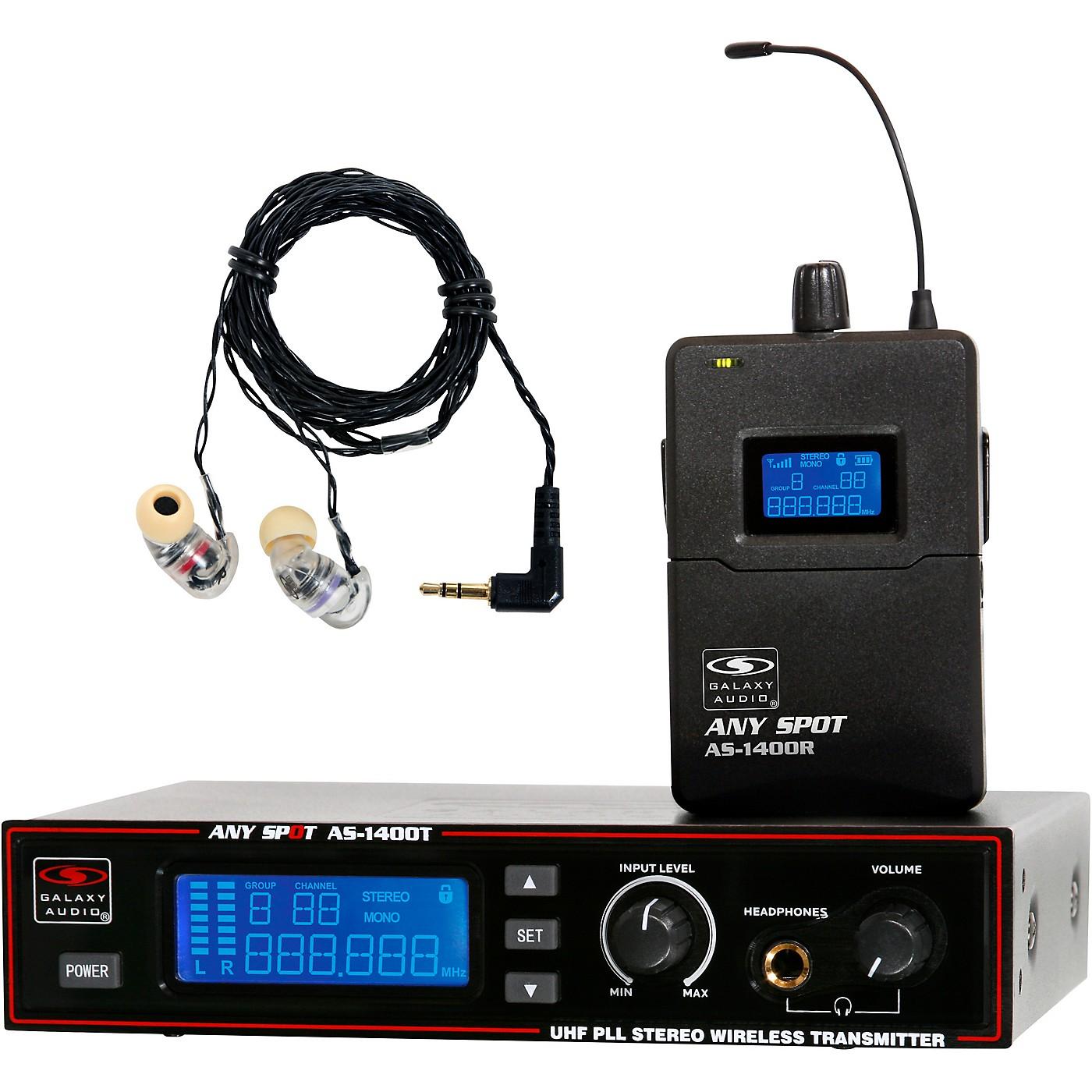 Galaxy Audio AS-1406 Wireless Personal Monitor thumbnail