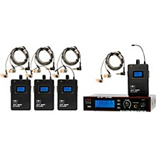 Galaxy Audio AS-1410-4 Wireless Personal Monitor Band Pack System